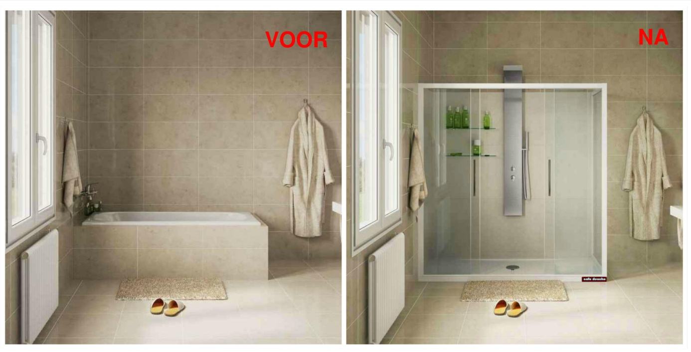 Een Veilige Badkamer : Badkamer in één dag poolsevakman